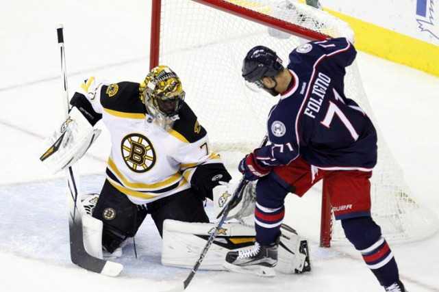 Les Bruins de Boston ont fait appel au gardien Malcolm Subban, lundi. (PHOTO AP)
