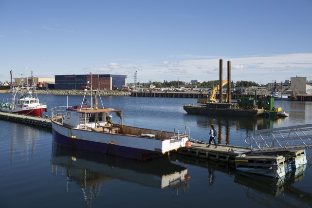 En plus de ports des grands centres, la... (Photothèque Le Soleil)