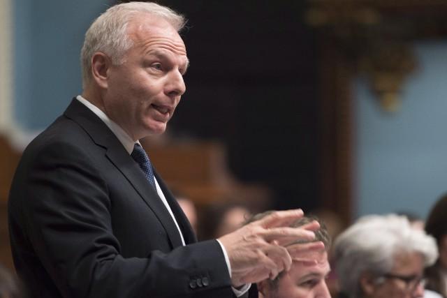 M. Lisée a vertement dénoncé le discours du... (Jacques Boissinot, La Presse canadienne)