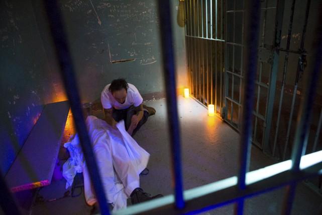 Parcours de peur à la vieille prison de... (Olivier Croteau)