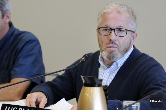 Luc Blackburn, conseiller municipal à Saguenay... (Archives Le Quotidien)