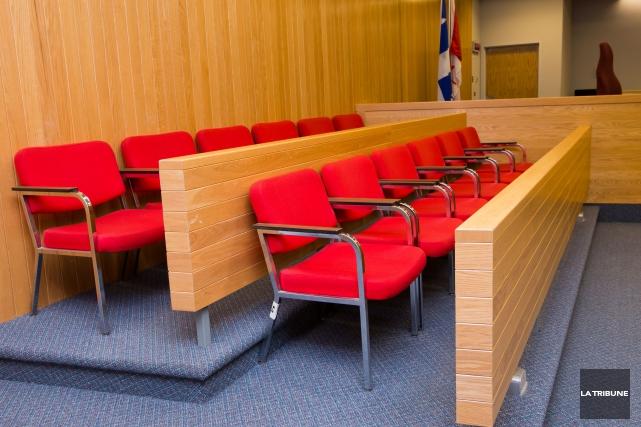 Le procès devant jury de Martial Lacasse, 21ans, de Woburn, s'est ouvert lundi... (Archives La Tribune, Jessica Garneau)