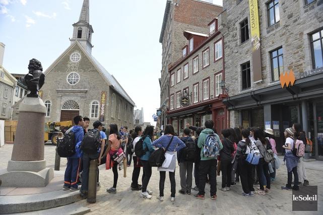 La Ville de Québec avait maintenu pour l'été... (Photothèque Le Soleil, Patrice Laroche)