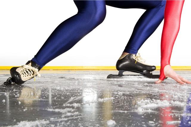 Quelques patineurs du Saguenay-Lac-Saint-Jean ont participé à une étape du... (Photo 123RF)