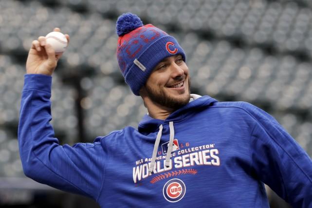 Le joueur de troisième-but des Cubs de Chicago,... (AP, David J. Phillip)