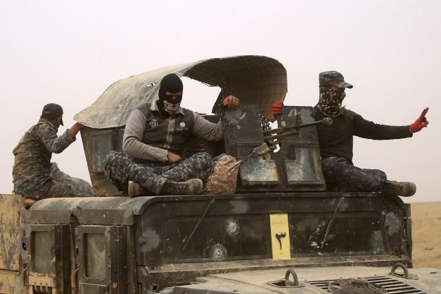 Les forces irakiennes ont repris des dizaines de... (AFP, Ahmad Al-Rubaye)