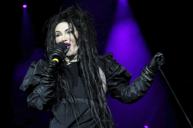Pete Burns, du groupe Dead or Alive, en... (AP, Ian West)