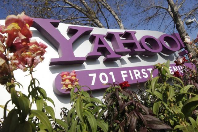 Yahoo! a été racheté l'an dernier par Verizon.... (Photo Archives AP)