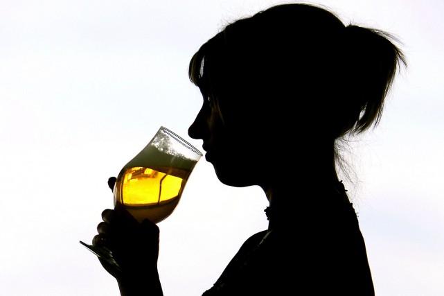La consommation d'alcool peut avoir un effet positif sur le développement des... (Archives AFP)