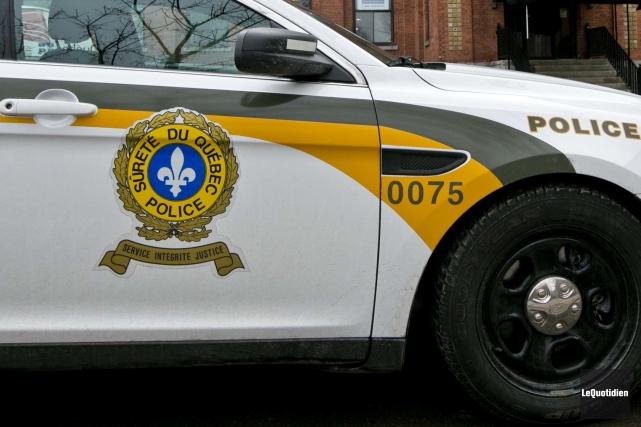 La Sûreté du Québec a repéré près de... (Archives Le Quotidien)
