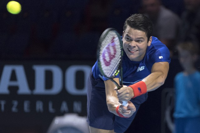 Milos Raonic... (Photo Georgios Kefalas, AP)