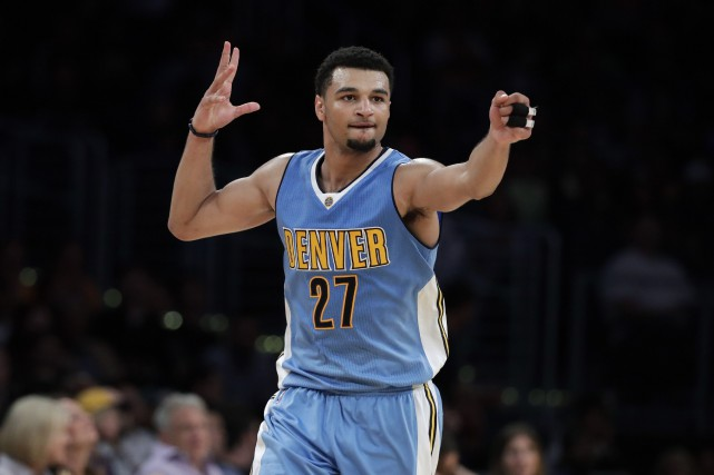Le Canadien Jamal Murray, des Nuggets de Denver.... (Photo Jae C. Hong, AP)
