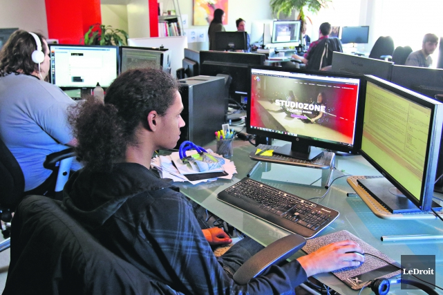 Depuis l'époque où il fignolait des sites web dans son sous-sol, le travail de... (Patrick Woodbury, LeDroit)