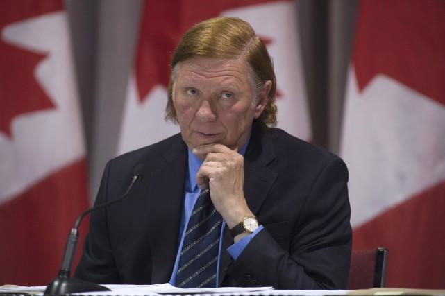 Le juge MalcolmRowe, désigné il y a une... (La Presse canadienne, Adrian Wyld)