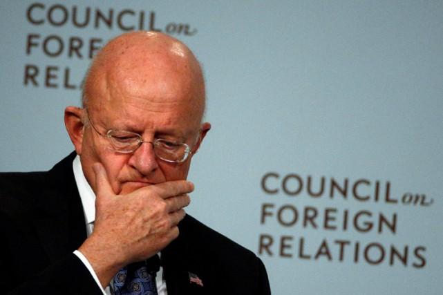 Le coordonnateur du renseignement américain, James Clapper.... (PHOTO REUTERS)
