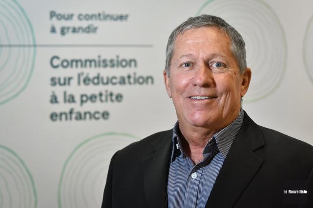 André Lebon est le président de la Commission... (François Gervais, Le Nouvelliste)