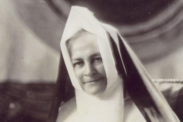 Née Marie-Aveline Bengle en 1861, l'Abbotsfordienne d'origine allemande... (Tirée du site de la Conférence religieuse canadienne)