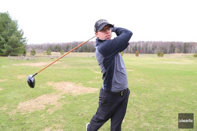 « J'ai joué du bon golf tout l'été,... (Archives La Voix de l'Est)