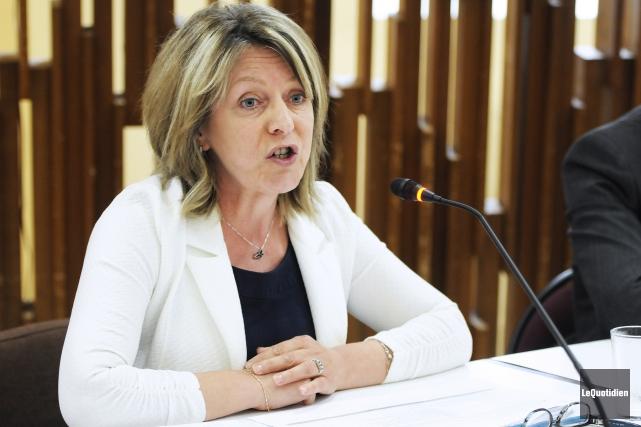 Christine Boivin, conseillère municipale de Lac-Kénogami, à Saguenay... (Archives Le Quotidien)