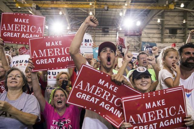 À moins de deux semaines des élections présidentielles américaines, tous les... (The New York Times)