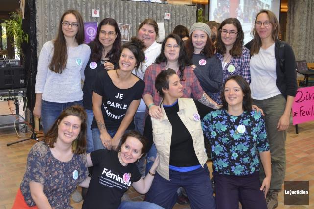 Le Comité des femmes était satisfait de la... (Photo Le Quotidien, Louis Potvin)