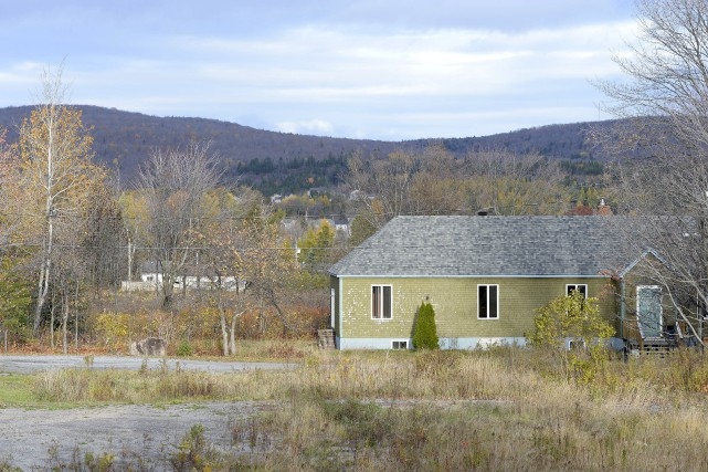 Investissement Donerail, de Sherbrooke, propose 230 logements sur... (Le Soleil, Yan Doublet)