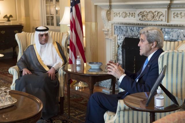 Le secrétaire d'État John Kerry a reconnu que... (AP, Molly Riley)