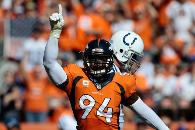 DeMarcus Ware... (PHOTO REUTERS)