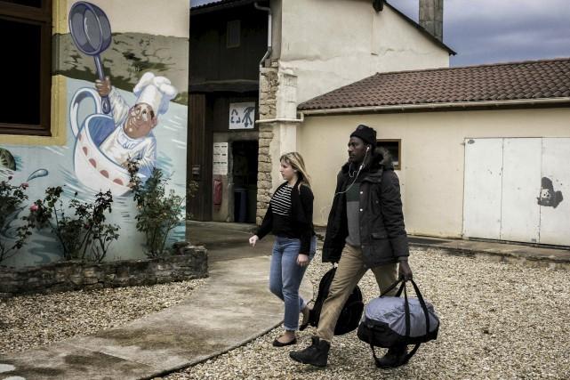 Chardonnay, petite commune viticole d'environ 200 habitants, a... (AFP, Jeff Pachoud)