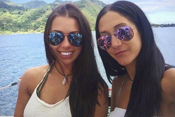Mélina Roberge, âgée de 23 ans, et Isabelle... (tirée du compte Instagram de Mélina Roberge)