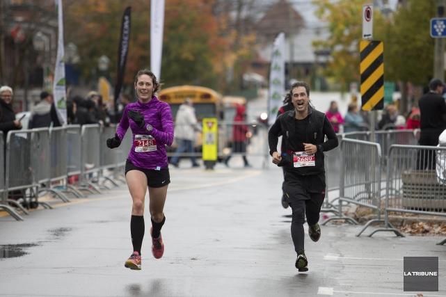 Cinq ans après sa création, le Marathon de... (La Tribune archives, René Marquis)