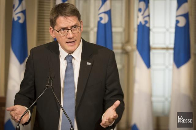 Sylvain Gaudreault, député de Jonquière... (Archives La Presse)