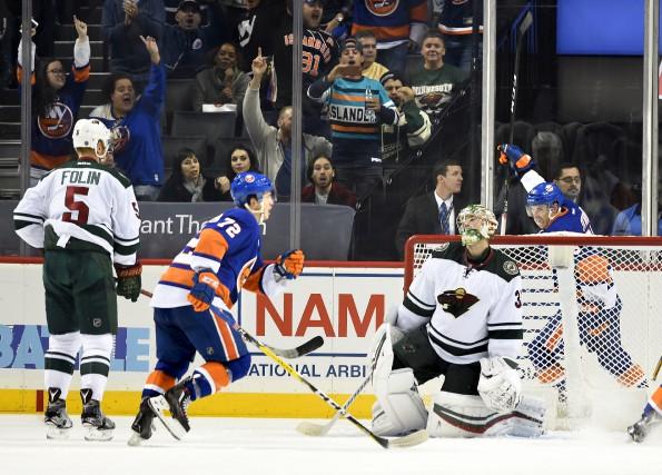 Après un départ fulgurant avec les Islanders à... (The Associated Press,  Kathy Kmonicek)