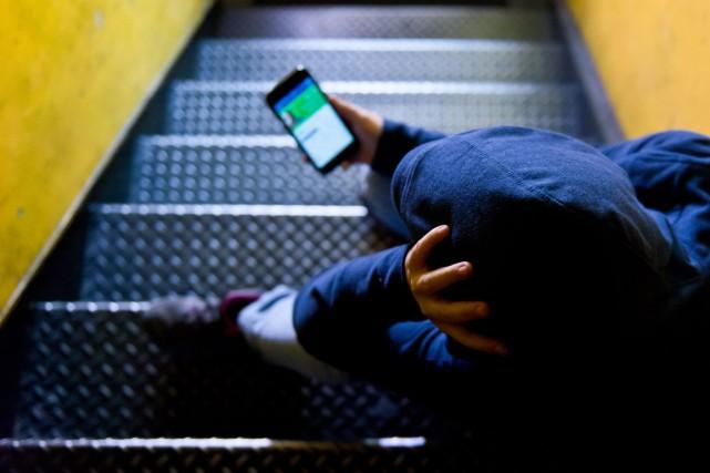 JEVI reçoit en moyenne 44 appels par jour.... (Spectre Média, Jessica Garneau)