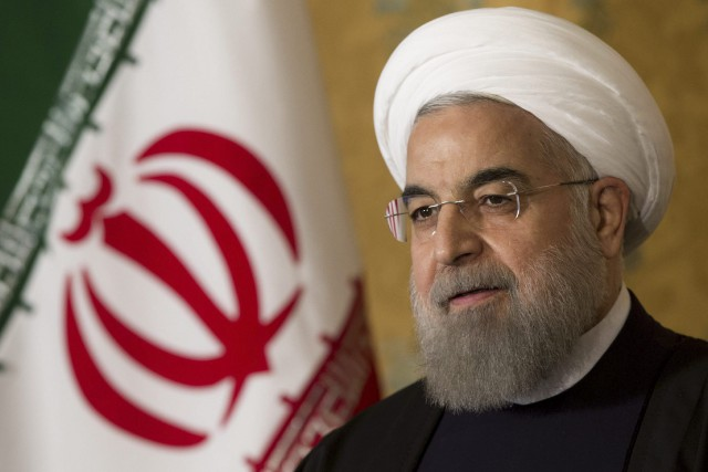 Le président iranien Hassan Rohani.... (photo archives AP)