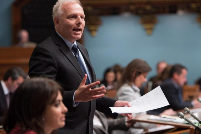 Le chef péquiste Jean-François Lisée veut que la... (Photo Jacques Boissinot, La Presse Canadienne)