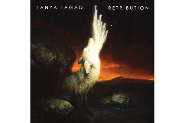 Retribution, de Tanya Tagaq... (image fournie par Six Shooter Records)