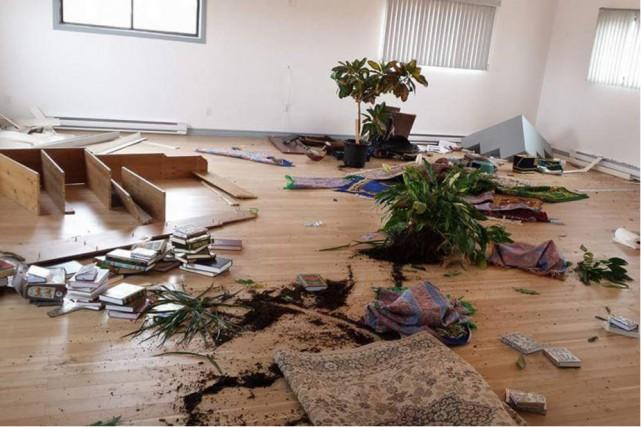 Le Centre culturel musulman de Sept-Îles a été... (Facebook)
