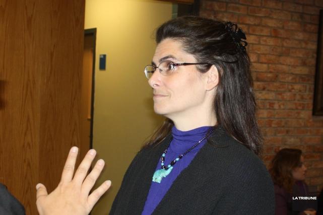 Tamara Friedmann devra respecter une séried'engagements au cours... (La Tribune, Yanick Poisson)