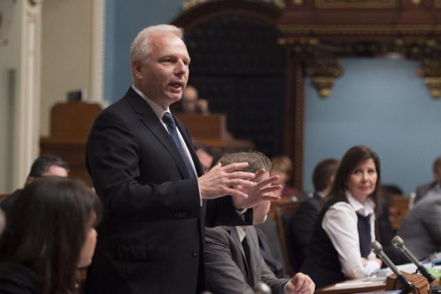 Le chef du Parti québécois Jean-Francois Lisée... (La Presse canadienne, Jacques Boissinot)