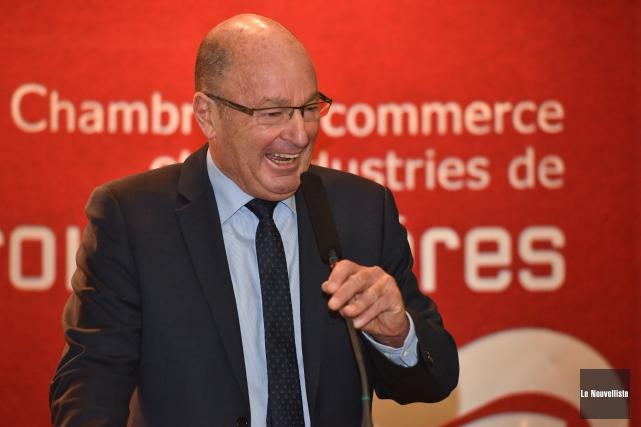 Yves Lévesque... (François Gervais, Le Nouvelliste)