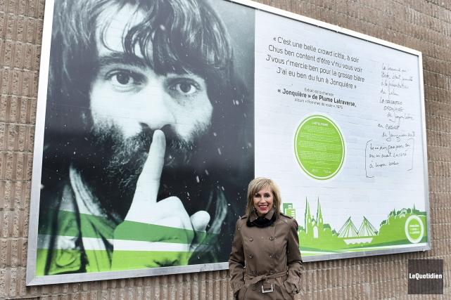La conseillère municipale responsable du secteur centre-ville de... (Photo Le Quotidien, Rocket Lavoie)