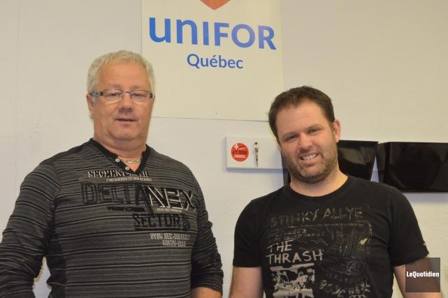 Daniel Leblond, responsable du dossier pour Unifor et... (Archvies Le Quotidien, Louis Potvin)