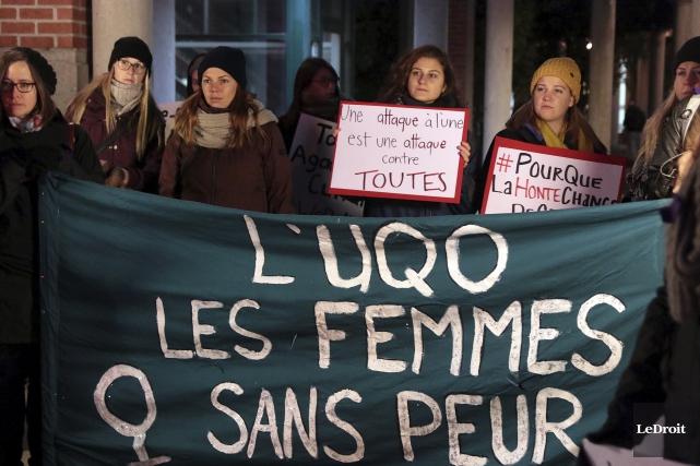 En 2014 au Québec, 5340 infractions sexuelles ont... (Etienne Ranger, LeDroit)