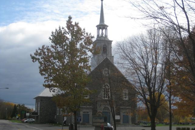 Construite en 1838, l'église de Saint-Pierre-les-Becquets fait l'objet... (Marc Rochette, Le Nouvelliste)