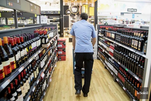 La Société des alcools du Québec réduira de... (Photothèque Le Soleil)