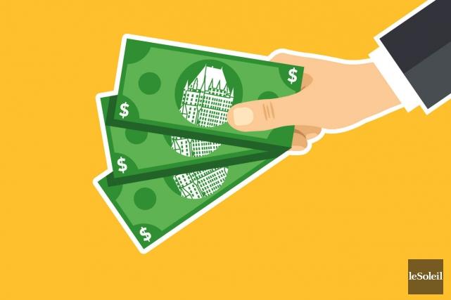 CHRONIQUE / Des citoyens du centre-ville travaillent à créer une «monnaie... (Infographie Le Soleil)