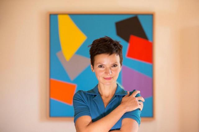 L'écrivaineAnaïs Barbeau-Lavalette est finalistepour le Grand Prix du... (PhotoIVANOH DEMERS, Archives LA PRESSE)