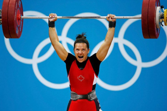 L'haltérophile canadienne Christine Girard aux Jeux olympiques de... (Photo Paul Hanna, archives Reuters)