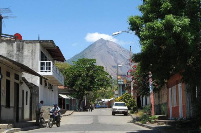 Vue du volcan Concepción de Moyogalpa, à Ometepe.... (Photo Rodolphe Lasnes, collaboration spéciale)